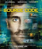 Source Code - Blu-Ray movie cover (xs thumbnail)