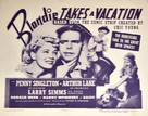 Blondie Takes a Vacation - poster (xs thumbnail)