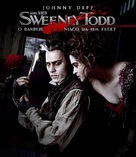 Sweeney Todd: The Demon Barber of Fleet Street - Brazilian Movie Cover (xs thumbnail)