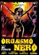 Orgasmo nero - Spanish DVD cover (xs thumbnail)