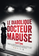 Die 1000 Augen des Dr. Mabuse - French Re-release poster (xs thumbnail)