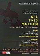 All This Mayhem - Australian Movie Poster (xs thumbnail)
