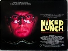 Naked Lunch - British Movie Poster (xs thumbnail)