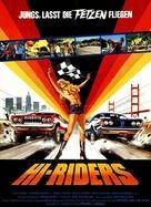 Hi-Riders - German Movie Poster (xs thumbnail)