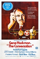 The Conversation - Australian Movie Poster (xs thumbnail)