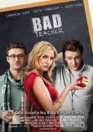 Bad Teacher - Spanish Movie Poster (xs thumbnail)