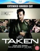 Taken - British Blu-Ray cover (xs thumbnail)