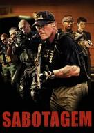Sabotage - Portuguese DVD movie cover (xs thumbnail)