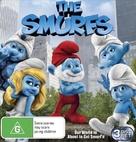 The Smurfs - Australian Blu-Ray cover (xs thumbnail)