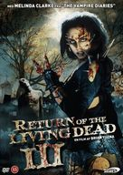 Return of the Living Dead III - Danish DVD movie cover (xs thumbnail)