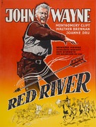 Red River - Danish Movie Poster (xs thumbnail)
