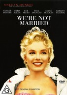 We're Not Married! - Australian DVD cover (xs thumbnail)