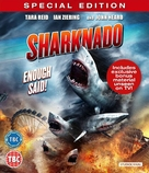 Sharknado - British Blu-Ray movie cover (xs thumbnail)