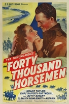40,000 Horsemen - Australian Movie Poster (xs thumbnail)