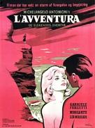 L'avventura - Danish Movie Poster (xs thumbnail)