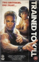 Trained to Kill - British VHS cover (xs thumbnail)
