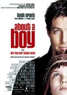 About a Boy - German Movie Poster (xs thumbnail)