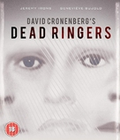 Dead Ringers - British Blu-Ray movie cover (xs thumbnail)