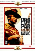 Per qualche dollaro in più - Czech DVD movie cover (xs thumbnail)