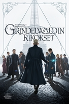 Fantastic Beasts: The Crimes of Grindelwald - Finnish Movie Cover (xs thumbnail)