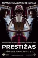 The Prestige - Lithuanian Movie Poster (xs thumbnail)