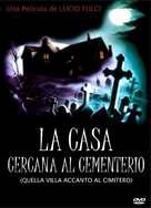 Quella villa accanto al cimitero - Venezuelan DVD cover (xs thumbnail)