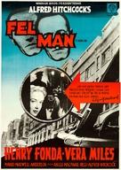 The Wrong Man - Swedish Movie Poster (xs thumbnail)