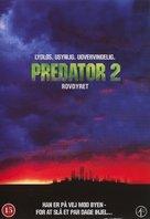 Predator 2 - Danish DVD movie cover (xs thumbnail)