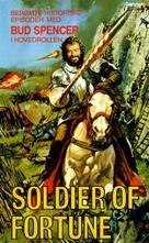 Il Soldato Di Ventura - Norwegian VHS cover (xs thumbnail)