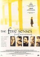 The Five Senses - Spanish poster (xs thumbnail)