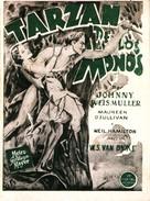 Tarzan the Ape Man - Spanish Movie Poster (xs thumbnail)