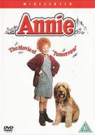 Annie - British DVD movie cover (xs thumbnail)