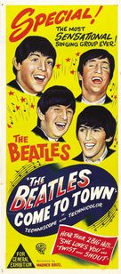 The Beatles Come to Town - Australian Movie Poster (xs thumbnail)