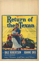 Return of the Texan - Movie Poster (xs thumbnail)