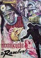 Frankenstein - 1970 - German Movie Poster (xs thumbnail)