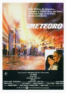 Meteor - Spanish Movie Poster (xs thumbnail)