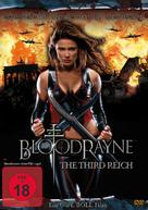 Bloodrayne: The Third Reich - German DVD cover (xs thumbnail)