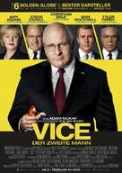 Vice - German Movie Poster (xs thumbnail)