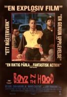 Boyz N The Hood - Swedish Movie Poster (xs thumbnail)