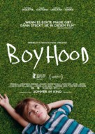 Boyhood - German Movie Poster (xs thumbnail)