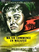 A Town Like Alice - French Movie Poster (xs thumbnail)