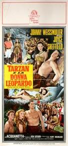 Tarzan and the Leopard Woman - Italian Movie Poster (xs thumbnail)