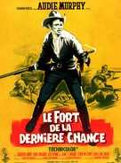 The Guns of Fort Petticoat - French Movie Poster (xs thumbnail)