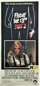 Friday the 13th Part 2 - Australian Movie Poster (xs thumbnail)