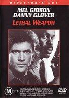Lethal Weapon - Australian DVD movie cover (xs thumbnail)