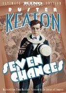 Seven Chances - DVD cover (xs thumbnail)