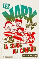 Duck Soup - French Re-release movie poster (xs thumbnail)