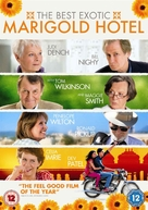 The Best Exotic Marigold Hotel - British DVD movie cover (xs thumbnail)