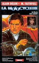 The Girl on a Motocycle - French VHS movie cover (xs thumbnail)
