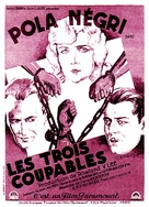 Three Sinners - French Movie Poster (xs thumbnail)